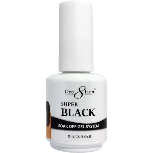 Cre8tion Soak-off Gel SUPER BLACK