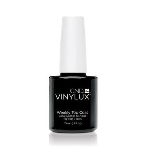 CND VINYLUX WEEKLY TOP COAT .5 OUNCE