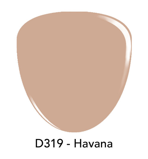 Revel Nail Dip Powder 2 oz - D319 Havana ***NEW COLORS***