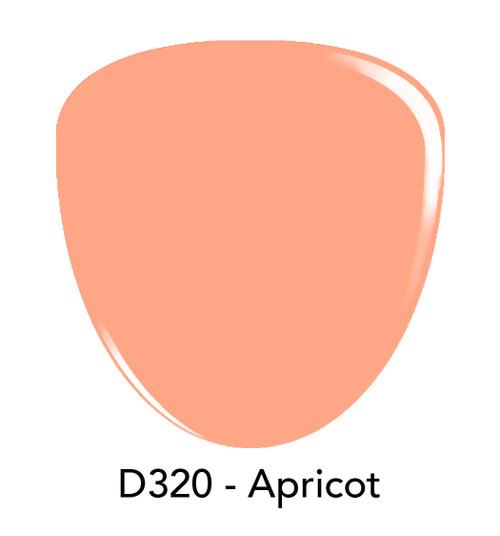 Revel Nail Dip Powder 2 oz - D320 Apricot ***NEW COLORS***
