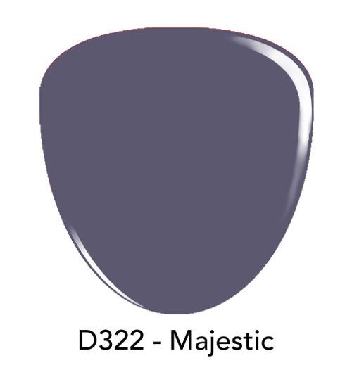 Revel Nail Dip Powder 2 oz - D322 Majestic ***NEW COLORS***