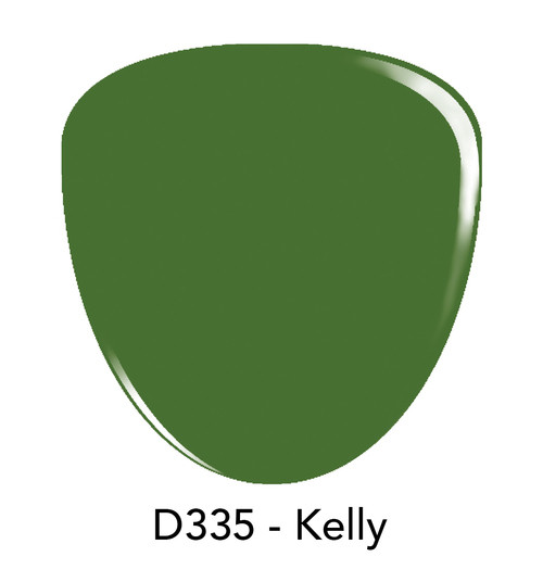 Revel Nail Dip Powder 2 oz - D335 Kelly ***NEW COLORS***