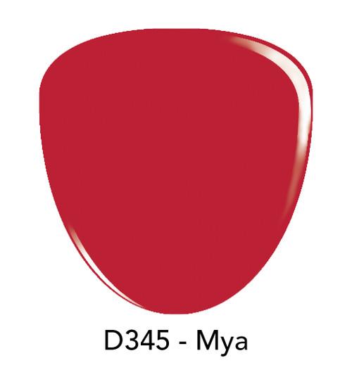 Revel Nail Dip Powder 2 oz - D345 Mya ***NEW COLORS***