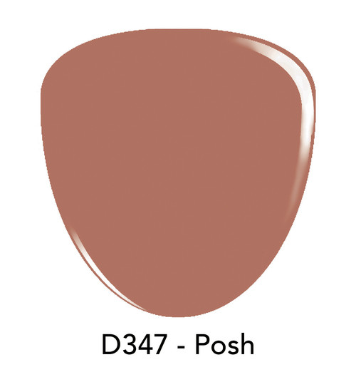 Revel Nail Dip Powder 2 oz - D347 Posh ***NEW COLORS***