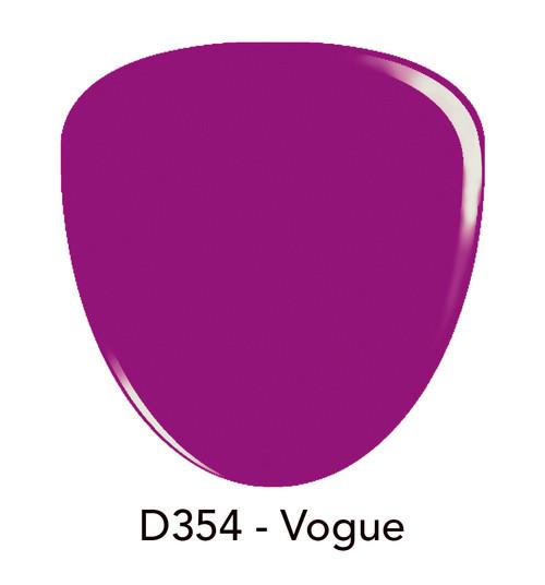 Revel Nail Dip Powder 2 oz - D354 Vogue ***NEW COLORS***