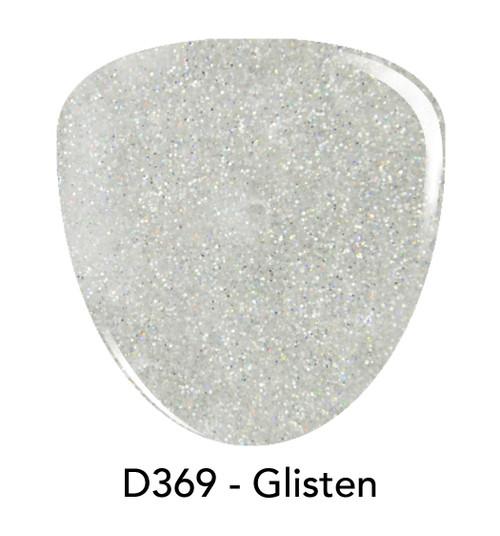 Revel Nail Dip Powder 2 oz - D369 Glisten ***NEW COLORS***