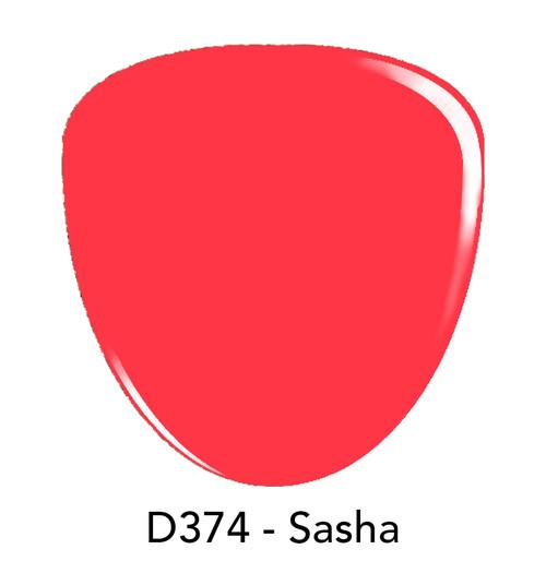 Revel Nail Dip Powder 2 oz - D374 Sasha  ***NEW COLORS***