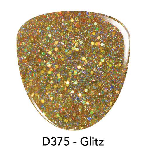 Revel Nail Dip Powder 2 oz - D375 Glitz ***NEW COLORS***