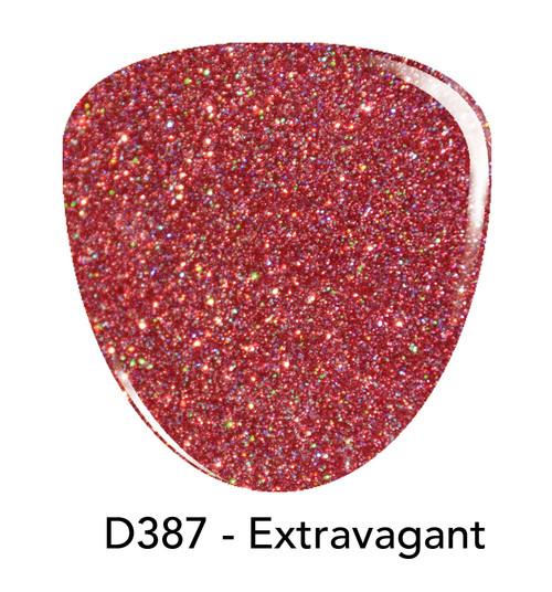 Revel Nail Dip Powder 2 oz - D387 Extravagant ***NEW COLORS***