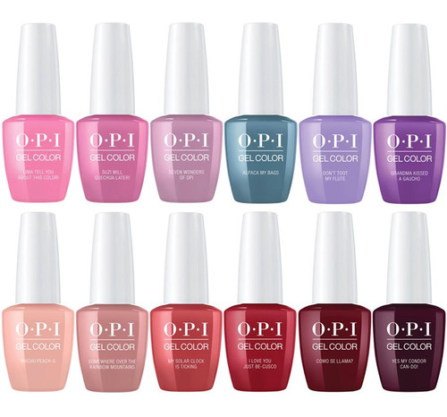 OPI GelColor Peru Collection Fall 2018