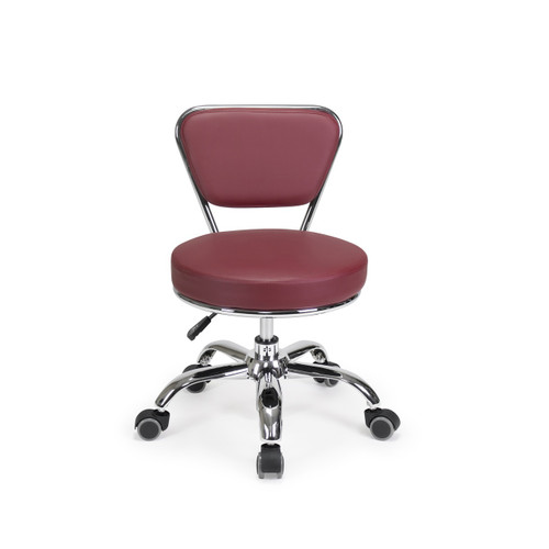 TECHNICIAN STOOL | DAYTON BURGUNDY