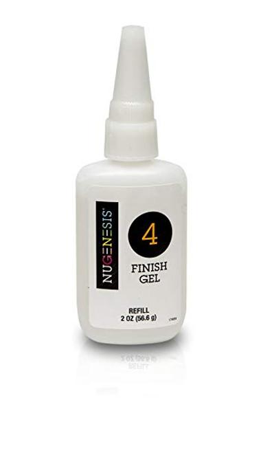 Nugenesis Dipping Liquid | Step 4 | Finish Gel Refill Size 2 fl oz