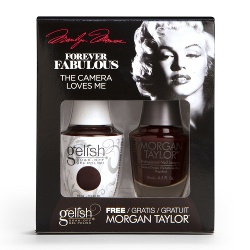 Gelish Duo | Marilyn Monroe - Forever Fabulous Collection 2018 | The Camera Loves Me