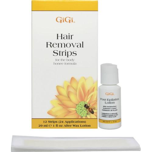 Gigi Hair Removal Strips For Body Honee Formula Max Beauty