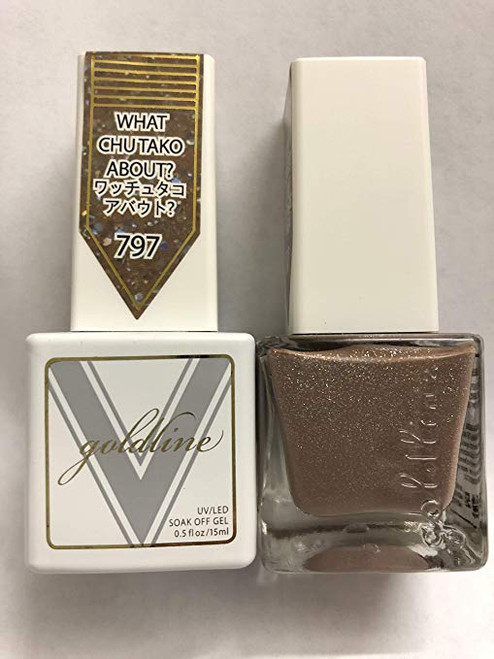Gel Matching SOAK Off Gel & Nail Lacquer What CHUTAKO About #797 by VETRO