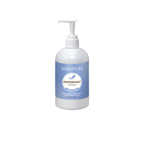 BODIPURE PEPPERMINT COOLING FOOT & LEG LOTION | 12 OUNCES