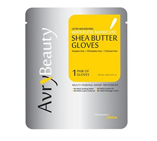 Avry Shea Butter Manicure Gloves (Ultra Moisturizing & Water-less)