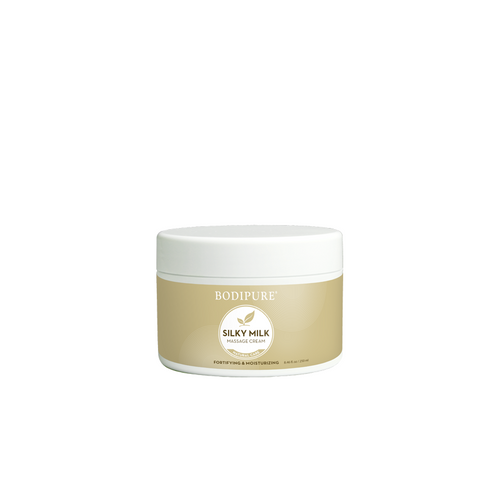 BODIPURE SILKY MILK MASSAGE CREAM | 8.45 OUNCES