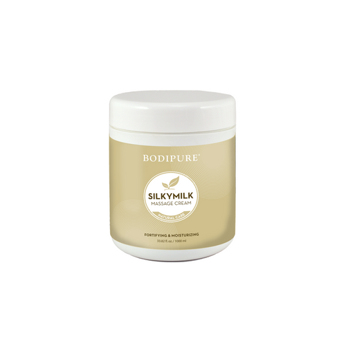 BODIPURE SILKY MILK MASSAGE CREAM | 34 OUNCES