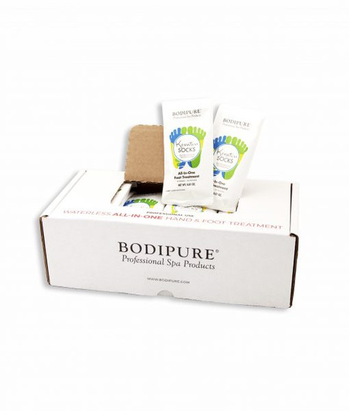 BODIPURE KERATIN SOCKS | ALL IN ONE FOOT-TREATMENT | PACK OF 4 PAIRS