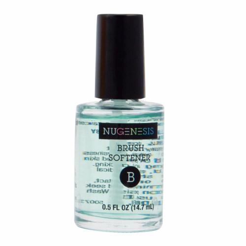 Nugenesis Easy Nail Dip   Brush Softener liquid 0.5 fl oz  