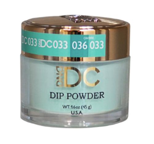 DND DC DIP POWDER - NILE GREEN 033