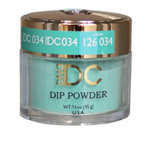 DND DC DIP POWDER - MINT GREEN 034