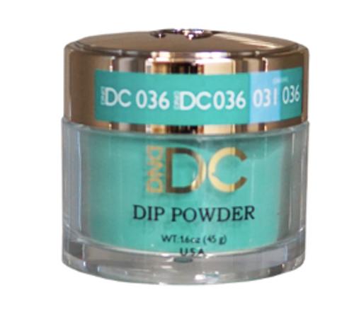 DND DC DIP POWDER - DUBLIN GREEN 036
