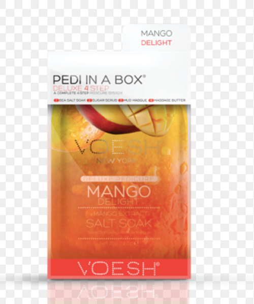 Voesh - Pedi in a Box 4-Step (MANGO DELIGHT)