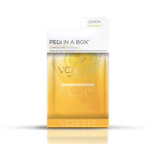 Voesh - Pedi in a Box 4-Step (LEMON QUENCH)