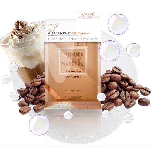 Voesh - O2 Oxygen Pedi in a Box 4-Step (Caffe' Macchiato)
