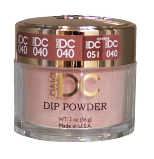 DND DC DIP POWDER - SANDY BROWN 040