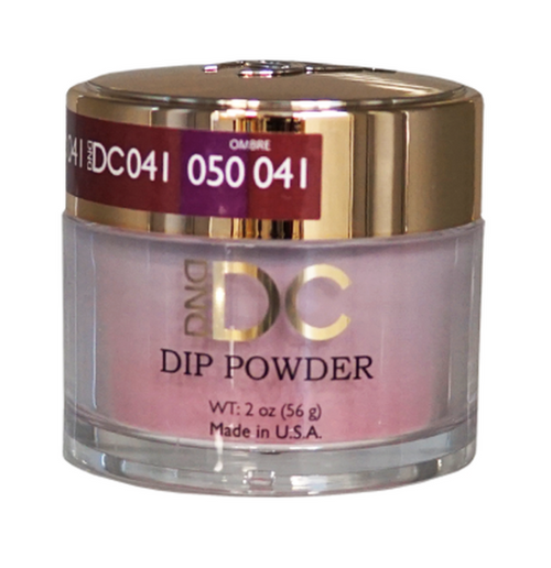 DND DC DIP POWDER - LIGHT MAHOGANY 041