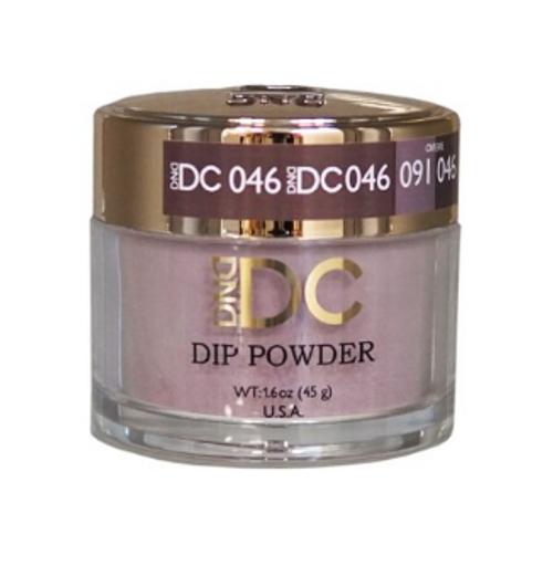 DND DC DIP POWDER - PEWTER GRAY 046