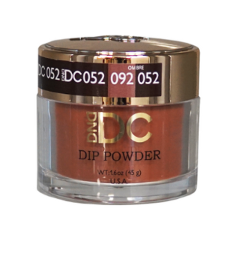 DND DC DIP POWDER - WALNUT BROWN 052