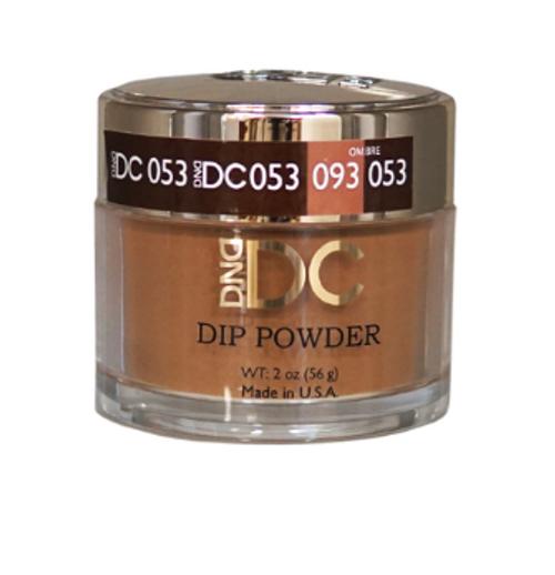 DND DC DIP POWDER - SPICED BROWN 053