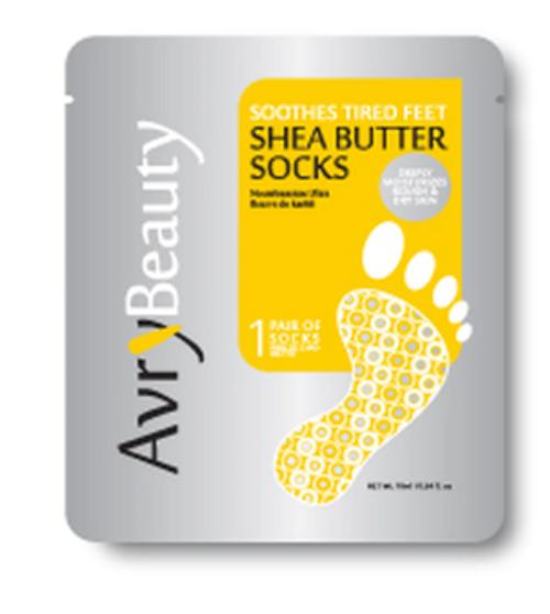 Avry Beauty Nourishing Socks - Shea Butter