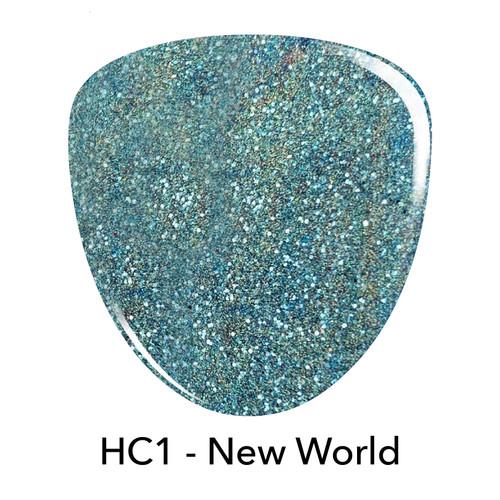 Revel Holo Chrome Dip Powder | HC1 New World 2 oz