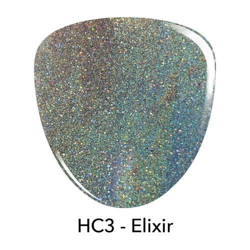 Revel Holo Chrome Dip Powder | HC3 ELIXIR 2 oz