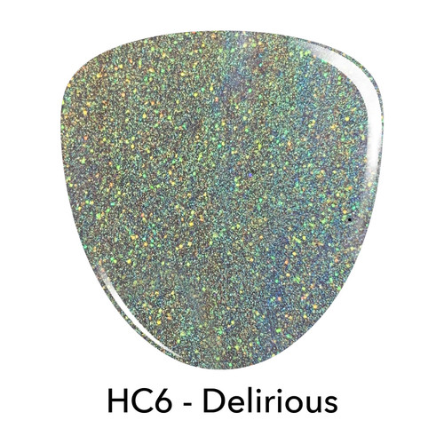 Revel Holo Chrome Dip Powder | HC6 DELIRIOUS 2 oz