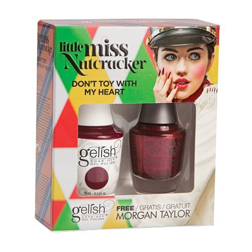 Gelish Duo - Holiday Collection * Little MissNutcracker* DON'T TOY WITH MY HEART