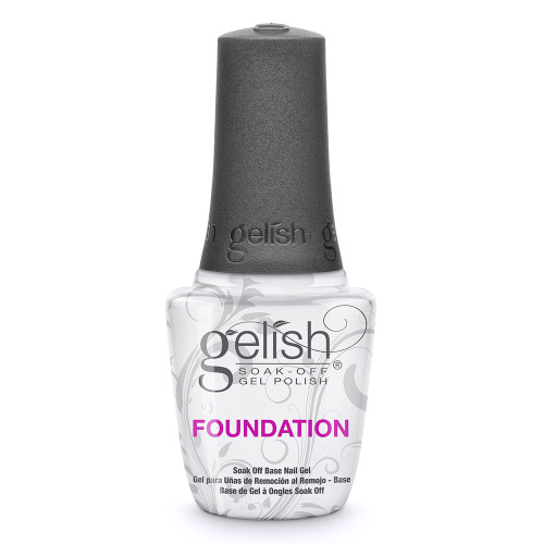 Gelish Soak Off FOUNDATION BASE GEL 0.5 oz