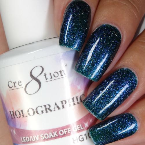 Cre8tion HOLOGRAPHIC SOAK OFF GEL .5 oz | HG10