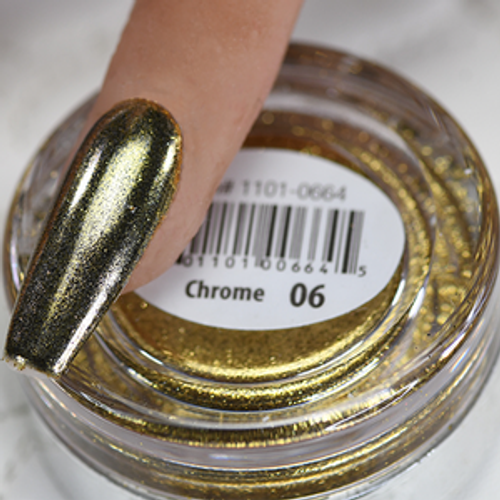 Cre8tion Chrome Nail Art Effect 1g | 06 Gold Chrome