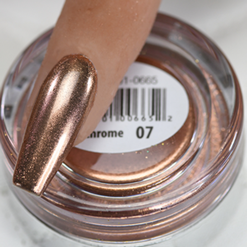 Cre8tion Chrome Nail Art Effect 1g | 07 Rose Gold Chrome