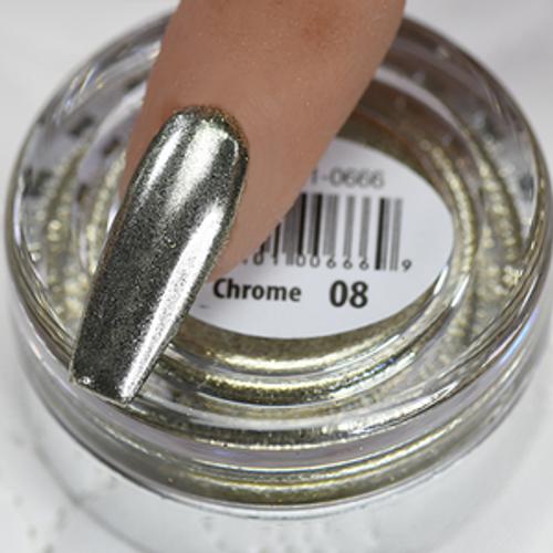 Cre8tion Chrome Nail Art Effect 1g | 08 Champange Chrome