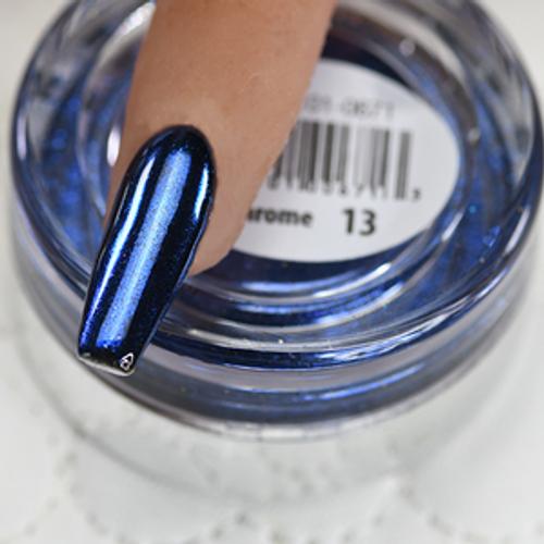 Cre8tion Chrome Nail Art Effect 1g | 13 Deep Blue Chrome