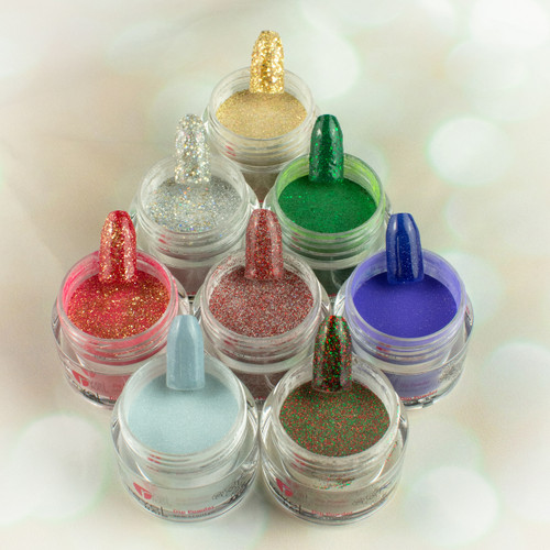 Revel Dip Powder | Home for the Holidays Collection | HH6 TINSEL 2 oz
