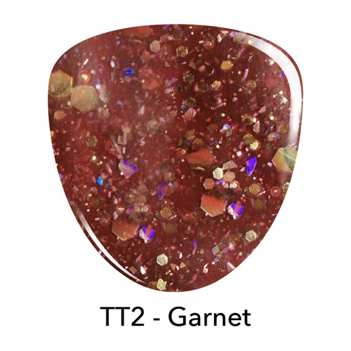 Revel Dip Powder | Treasure Trove Collection | TT2 GARNET 2 oz