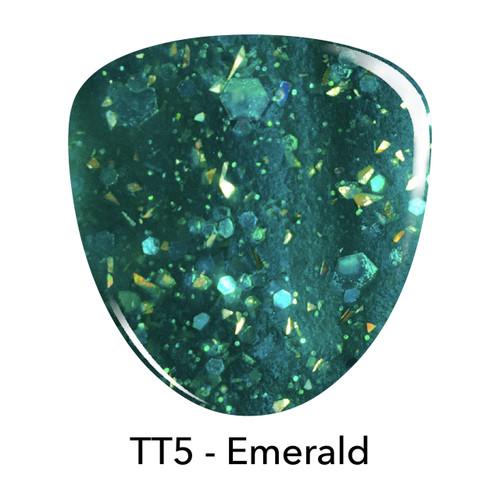 Revel Dip Powder | Treasure Trove Collection | TT5 EMERALD 2 oz